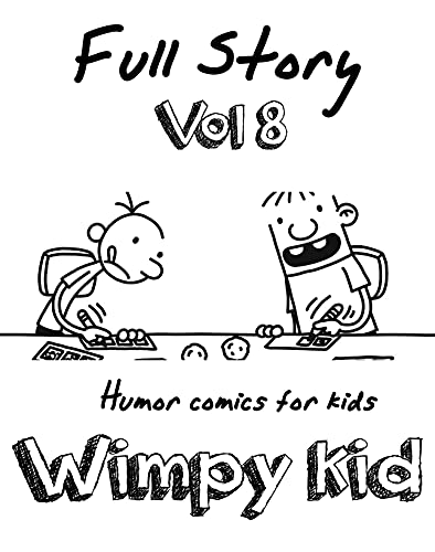 Humor comics for kids Wimpy Kid Full Story: Funny Wimpy Kid Full Story Vol.8 (English Edition)