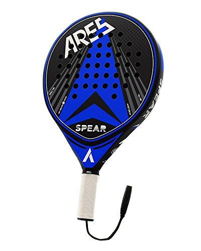 VIBORA-A Padel Ares Spear Pala, Unisex Adulto, Azul, Talla