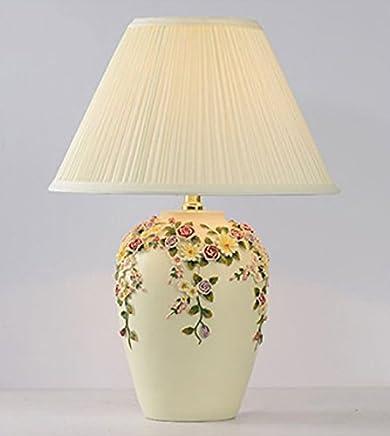 MILUCE シンプルなベッドルームのベッドサイドランプウェディングテーブルのランプの装飾ウォームガーデンライト