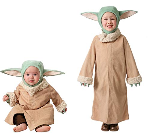 Princess Paradise The Mandalorian The Child Amazon Exclusive Dress-Up Costume Robe with Headpiece, 3-6 Months