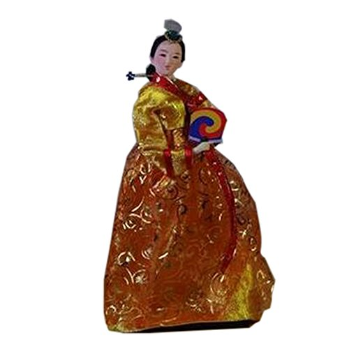 Ameublement coréenne Articles Décoration Doll Costume Ancient Oriental Doll, C