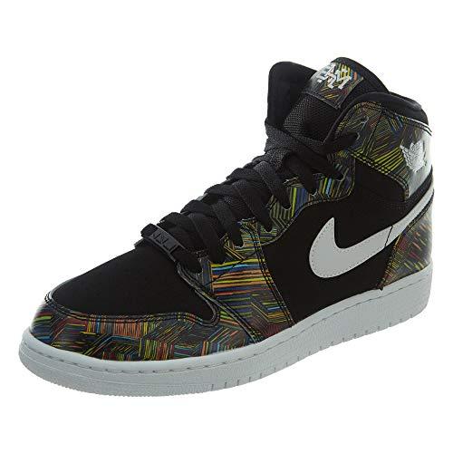 Nike Air Jordan 1 Retro High BHM GG Schuhe Sneaker Neu Schwarz Cyber Monday (EUR 38, Schwarz)