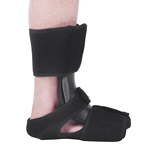 Night Splint, Foot Splint Brace Short Fracture Walker Boot Orthotic Aluminum Splint Brace Plantar Fasciitis Fixed Support Ankle Brace For Both Left And Right Foot Protection (S/M)