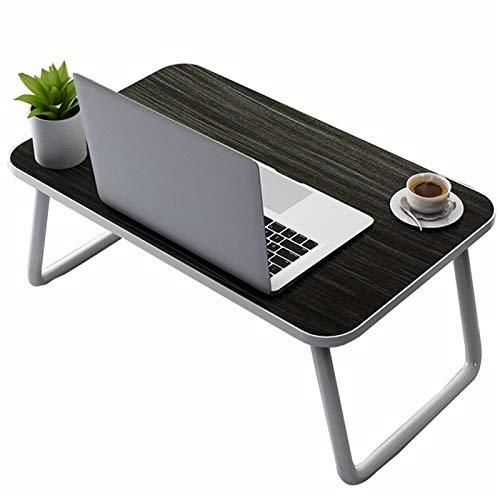 Estaciones de trabajo informáticas Escritorio de laptop plegable, portátil de la lapbicación para el desayuno de la bandeja de la cama de la cama, la cabecera sobre la mesa de la mesa del soporte de l