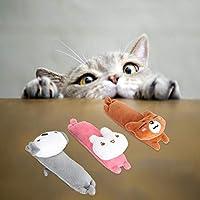 複数の用途3PCS環境にやさしく安全な猫のおもちゃ、かみ傷に強いペットのおもちゃ、ペット用(combination)