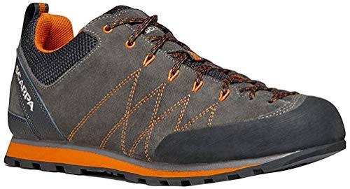 Scarpa Men's CRUX Low Rise Hiking Boots, Shark Tonic BN Vertical Dual Density, 8 UK