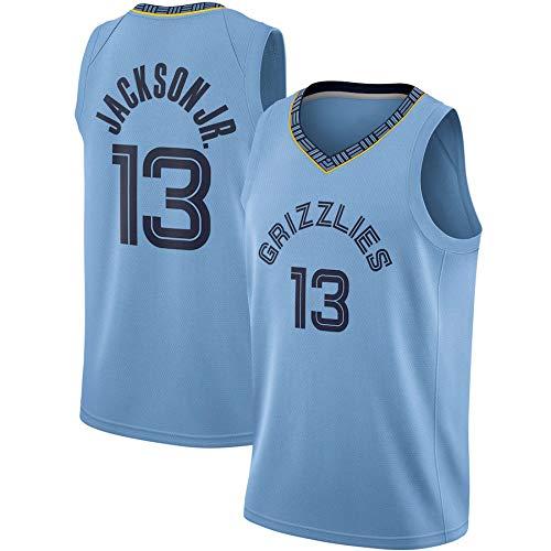 WSWZ Camisetas De La NBA para Hombre, Memphis Grizzlies NBA 13# Camisetas De Baloncesto De Jaren Jackson Jr, Camiseta Cómoda Unisex con Chaleco Deportivo De Baloncesto,XL(180~185CM/85~95KG)