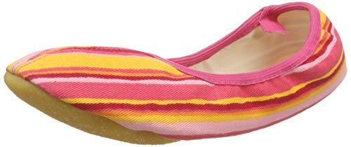 Beck Stripes orange 149, Mädchen Sportschuhe - Gymnastik, orange, EU 35