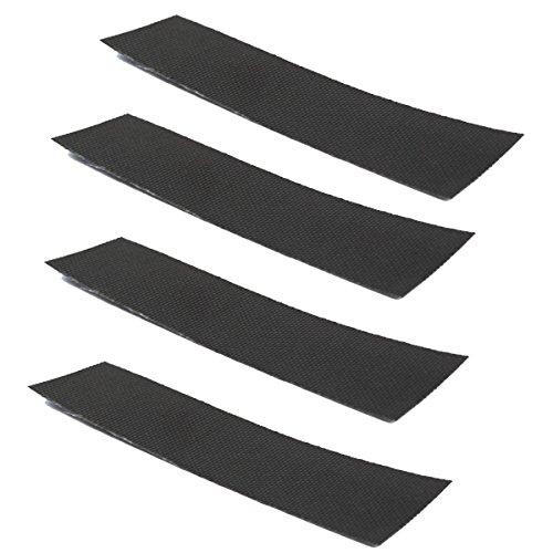 4 Endbandn je 12 cm Glasgewebeband Abklebeband Dichtschnur Schnurende selbstkl