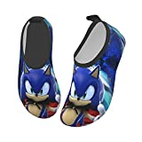 Yikava So-Nic The Hed-Ge-Hog Water Shoes for Kids Girls Boys, Quick Dry Water Skin Barefoot Sports Shoes for Sport Beach Swim Surf Black