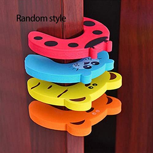 YUIO Creative Türklemme Winddichte Tür Block Baby Anti-Pinch Kinder Karte Stil Familie vertrauten Artikel des täglichen Gebrauchs (bunt)