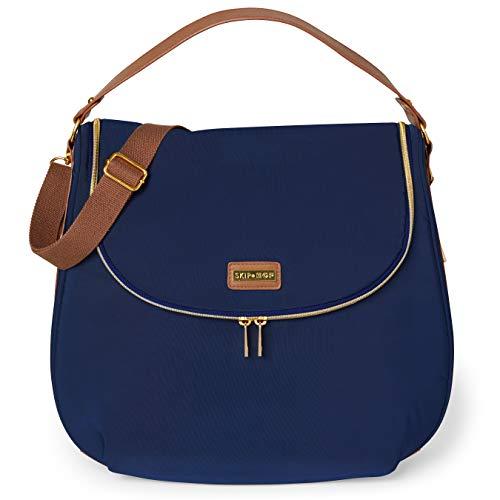 Bolsa Maternidade Skip Hop Curve Diaper Bag Satchel Navy, Skip Hop, Navy