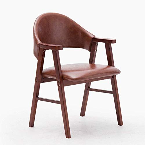 Carl Artbay eetkamerstoel, moderne eenvoudige studiestoel, rugleuning, vrijetijdsstoel, trendy bureaustoel, Scandinavisch bureau stoel, 13 mooi en duurzaam