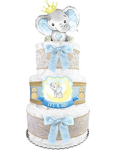 Elephant Diaper Cake - Little Peanut -...