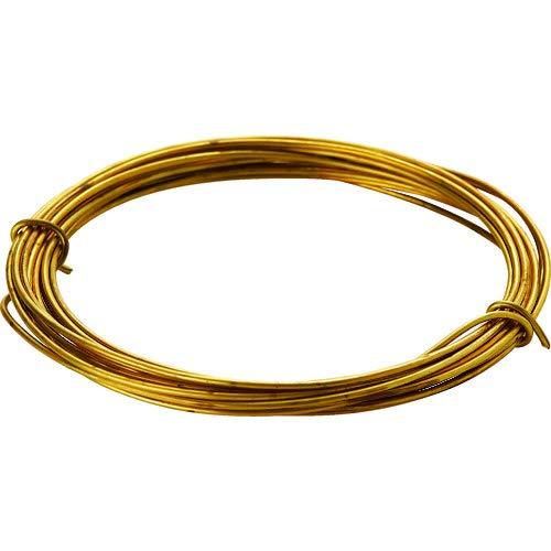 TRUSCO 真鍮線 線径0.35mmx約12m TBW-28