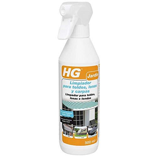 HG Limpiador para toldos, lonas y carpas 500 ml - Para refrescar rápido y fácil - Para toldos, lonas y carpas