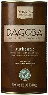 DAGOBA Organic Drinking Chocolate, 12 Ounce