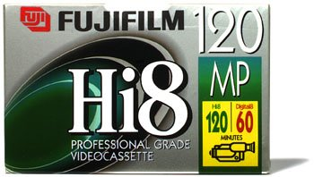 Read About Fuji Hi-8mm P6-HMP-120 Metal Particle Tape (3 Pack)