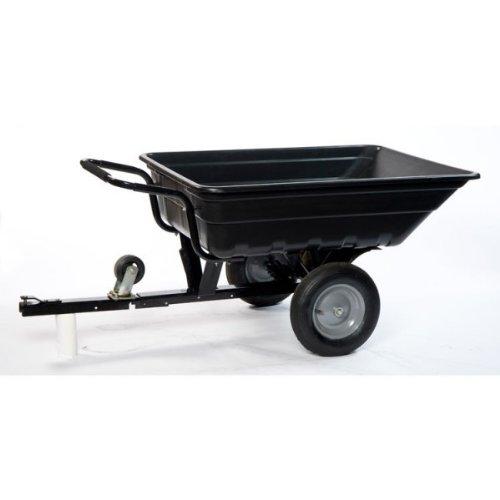 LawnBoss: TURFMASTER, remolque / carretilla basculante para tractor, cortacésped o quad (250kg)