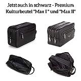 Berliner Bags Kulturbeutel Paul aus Leder Kulturtasche für Damen und Herren - 7