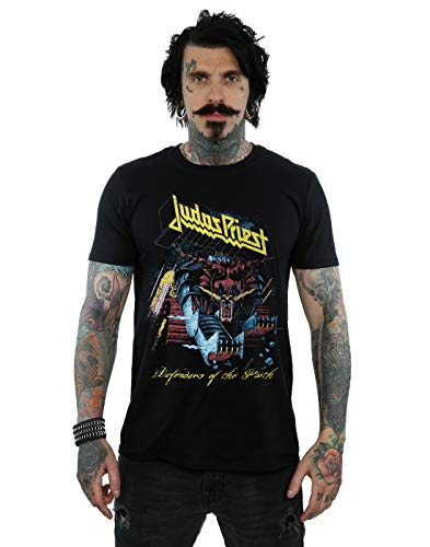 Judas Priest Herren Defender of Faith T-Shirt Schwarz X-Large