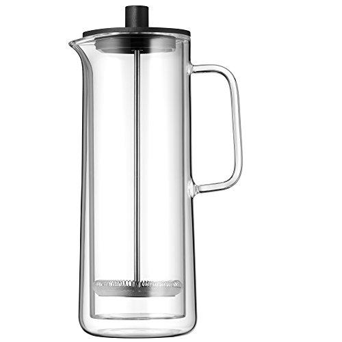 WMF Coffee Time Cafetera francesa de émbolo (cafetera de pistón), Vidrio, 0,75 Litro