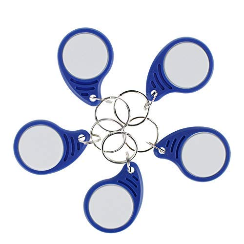 Waizmann.IDeaS® 10x RFID Schlüsselanhaenger Transponder Zutrittskontrolle KeyFob 125Khz