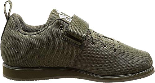adidas Herren Powerlift 4 Fitnessschuhe, Grün - Camo Olive - Größe: 46 2/3 EU