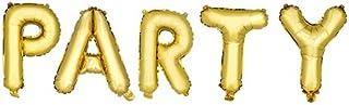 بالون مايلار للحفلات من ترو فابريكشن، ذهبي، مقاس واحد، متعدد الألوان