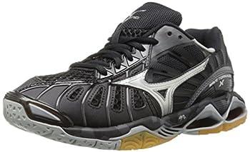 Mizuno Women s Wave Tornado X Volleyball Shoes Black/Silver 7 B US