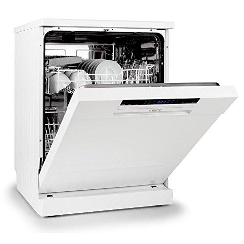 Klarstein Amazonia lavastoviglie classe A+ (1850 Watt, 9 coperti, 6 programmi, risparmio energetico, adatta al montaggio, pannello di controllo, possibilità di partenza ritardata) - nero