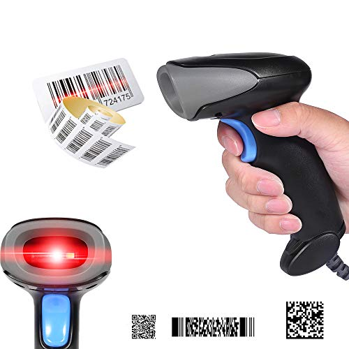 OBT-6801 Wired Handheld 1D 2D Barcodes QR Code Reader USB Cable Directly Use on Supermarket Retails Windows Android OS PC,POS System 3d barcode scanner