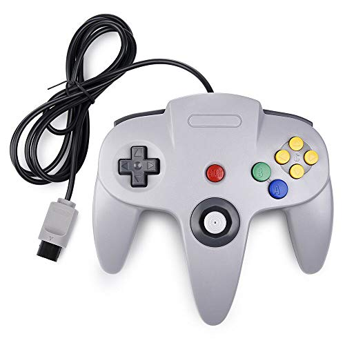 Prodico Classic N64 Controller Classic Wired Controller Replacement for N64 Console (Grey)