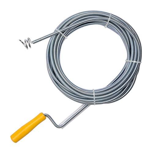 Rohrreinigungswelle Rohrreinigungsspirale Abflussreiniger Spirale 9 mm x 10 m