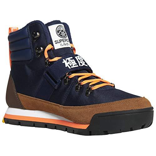 Superdry Schuhe Outlander Snow Boots Navy, Blau - marineblau - Größe: 41 EU