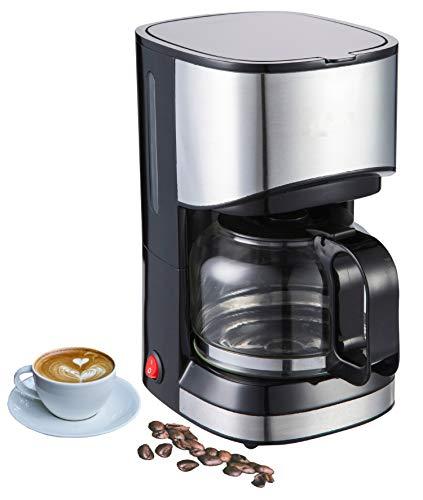 Kaffeemaschine | Filterkaffeemaschine | Kaffeefiltermaschine | Timer | 9 Tassen | Edelstahldesign | Tropfstopf | 550 Watt | Abschaltautomatik