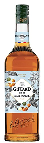 GIFFARD Makadamia Macadamia Nuss Nut Sirup 1 Liter Flasche