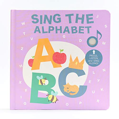 Sing The Alphabet . Sound Book for Children - Best Interactive Musical Book for Toddlers and Babies. Educational Toy for Toddlers Ages 2-4. Alphabet Learning Kids Books with Music. Award Winner