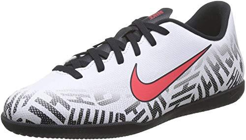 Nike Unisex-Kinder Vapor 12 Club Gs NIC Fußballschuhe, Weiß (White/Challenge Red-Black 170), 36 EU