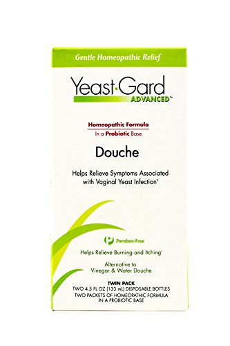 YeastGard Advanced Homeopathic Douche - Yeast Infection Symptom Relief, 4.5-Ounce Bottles in 2-Count Box (Pack of 3)
