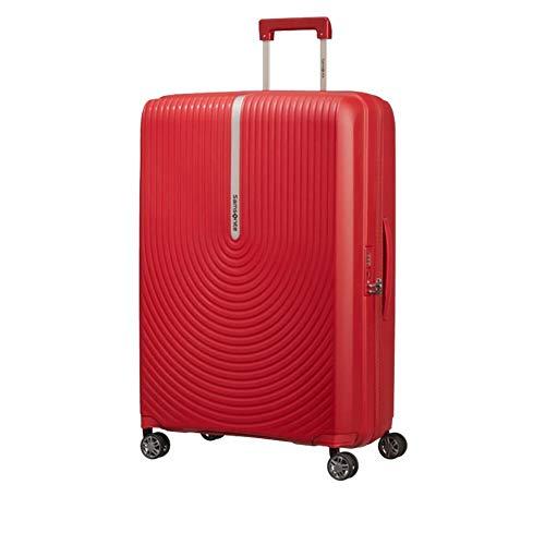 Samsonite Hi-Fi - Maleta rígida de 75 cm, 4 ruedas, color rojo
