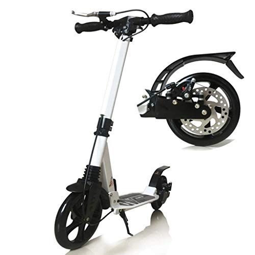 Great Features Of YYIN Adjustable Height Children's Scooter Two or Two Hand Brakes 10-15 Years Old T...