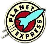 Planet Express Logo Sticker (Funny Bumper Futurama tv)
