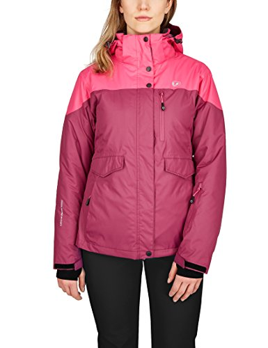 Ultrasport Damen All Seasons 3in1 Multi-funktions-jacke, Beere/Pink, L