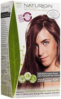 Naturigin Hair Colour - Permanent - Medium Copper Blonde - 1 Count (Pack of 2)