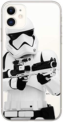 ERT GROUP Original & Offiziell Lizenziertes Star Wars Stormtrooper Handyhülle für iPhone 11, Hülle, Hülle, Cover aus Kunststoff TPU-Silikon, schützt vor Stößen & Kratzern