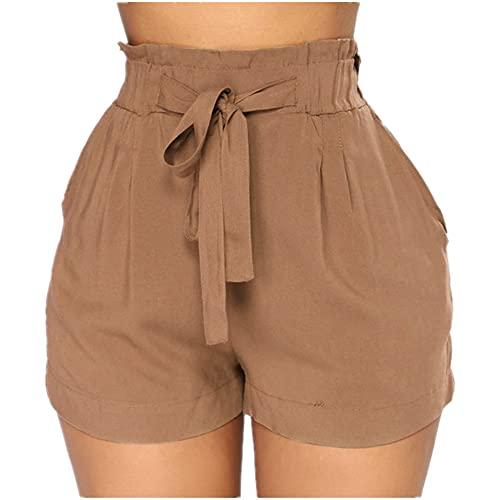 Pantalones cortos de verano para mujer sexy apretados elásticos transpirables push up ropa de gimnasio