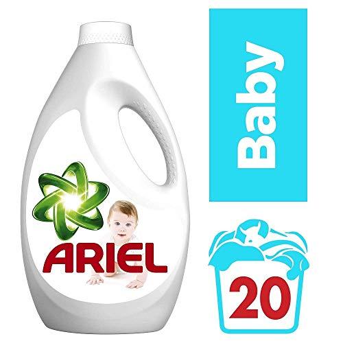 Ariel Detergente líquido 8001090703774 , 20 Loads, 1300ML, Bebé, 1