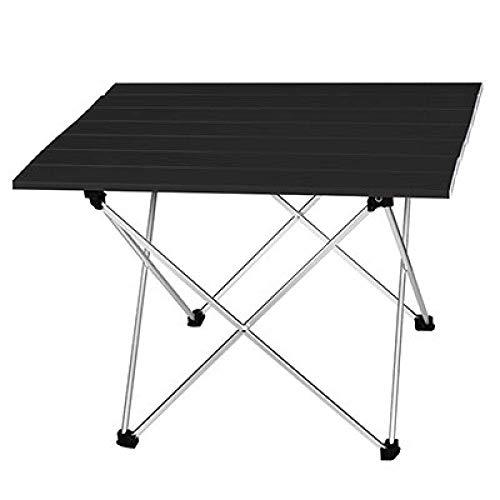 1yess Klapptisch Camping Tisch beweglichen im Freien Aluminium-Klapptisch Grill Camping Tisch Picknick-Klapptische, L 56.5x40.5x41cm7 8bayfa (Color : L 56.5x40.5x41cm5)