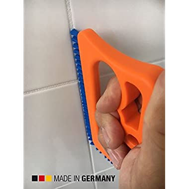 Fugenial  Fuginator®  Tile Joint Cleaning Brush for Use in the Bathroom, Kitchen and the Rest of the Household - Blue (universal cleaning)